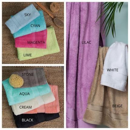 Πετσέτες Μπάνιου (Σετ 3 Τμχ) Palamaiki Towels Collection Jolie