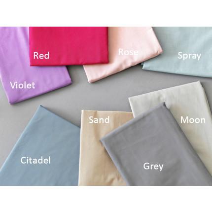 Σεντόνια (Σετ) Υπέρδιπλα 240x260 Colour Rainbow Μονόχρωμα