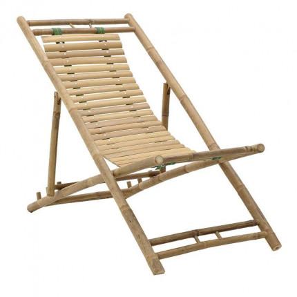 Πτυσσόμενη Καρέκλα Παραλίας Μπαμπού Inart 3-50-236-0012