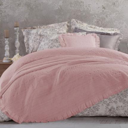 Κουβερτόριο Υπέρδιπλο 230x250 Nef Nef Aurelia Pink