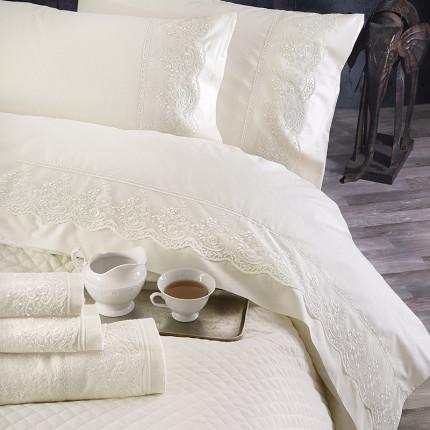 Πετσέτες Μπάνιου (Σετ 3 Τμχ) Rythmos Shiraz Εκρου