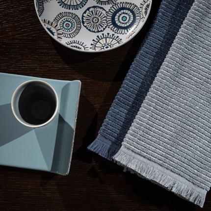 Πετσέτες Κουζίνας (Σετ 2 Τμχ) 40x60 Guy Laroche Tissus Grey
