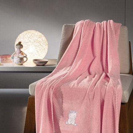 Κουβέρτα Fleece Κούνιας 100x140 Guy Laroche Mythical Pink