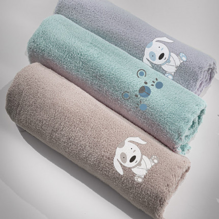 Κουβέρτα Fleece Κούνιας 100x140 Guy Laroche Puppy Silver