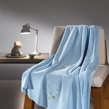 Κουβέρτα Fleece Κούνιας 100x140 Guy Laroche Bear Ciel