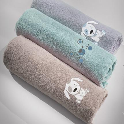 Κουβέρτα Fleece Κούνιας 100x140 Guy Laroche Bear Mint