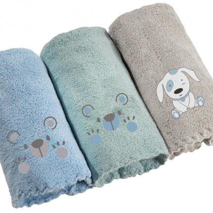 Βρεφικές Πετσέτες 35x50 (Σετ 3 Τμχ) 35x50 Guy Laroche Baby Boy