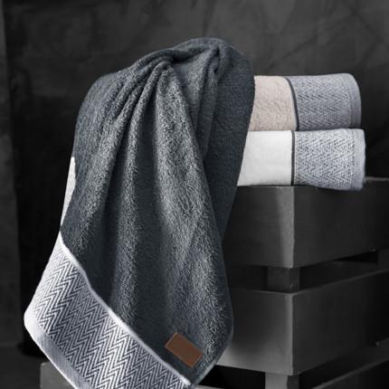 Πετσέτα Προσώπου 50x90 Guy Laroche Linos Anthracite