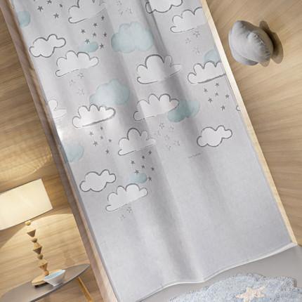 Κουρτίνα Με Τρουκς 145x270 Guy Laroche Cloudy Silver Sky