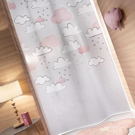 Κουρτίνα Με Τρουκς 145x270 Guy Laroche Cloudy Silver Pinky