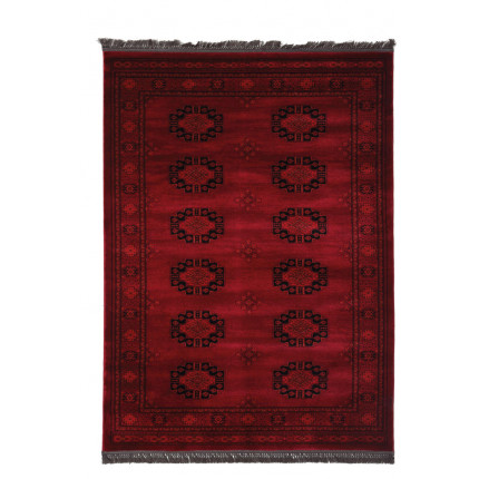 Χαλί Σαλονιού Royal Carpet Afgan 2.00X2.50 - 6871H D.Red