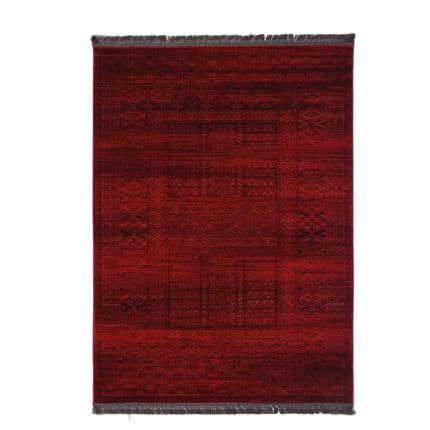 Χαλί Σαλονιού Royal Carpet Afgan 1.33X1.90 - 7504H D.Red
