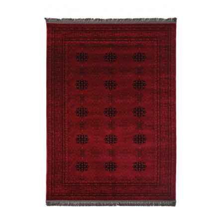Χαλί Σαλονιού Royal Carpet Afgan 2.00X2.90 - 8127A D.Red
