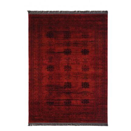 Χαλί Σαλονιού Royal Carpet Afgan 1.33X1.90 - 8127G Red