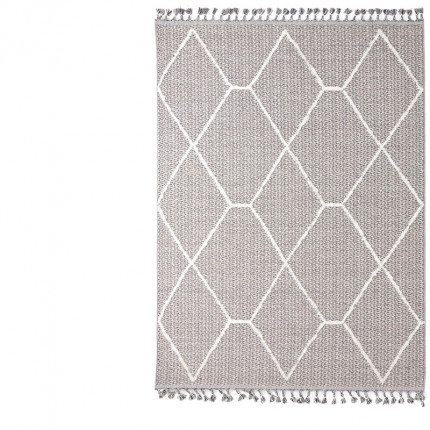 Χαλί Σαλονιού Royal Carpet Linq 1.60X2.30 - 7436A Ivory/D.Grey