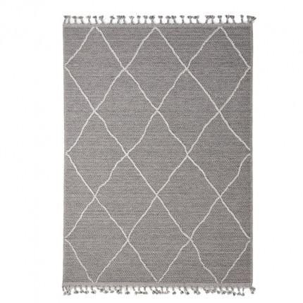Χαλί Διαδρόμου Royal Carpet Linq 0.67X1.40 - 7439A Ivory/D.Grey