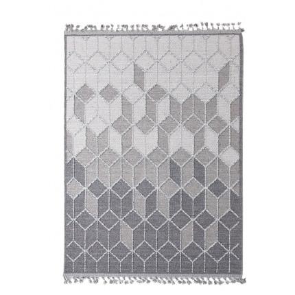 Χαλί Σαλονιού Royal Carpet Linq 2.00X2.90 - 7443A Ivory/D.Grey