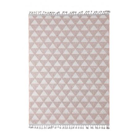 Χαλί Διαδρόμου Royal Carpet Linq 0.67X1.40 - 7444A Ivory/D.Grey