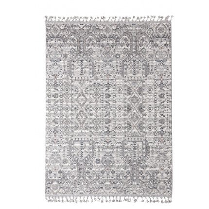 Χαλί Διαδρόμου Royal Carpet Linq 0.67X1.40 - 7541A Ivory/D.Grey