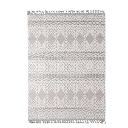 Χαλί Σαλονιού Royal Carpet Linq 1.33X1.90 - 7556A Ivory/D.Grey