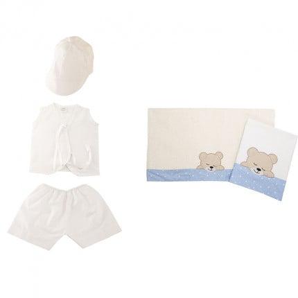 Λαδόπανα (Σετ 5 Τμχ) Dimcol Sleeping Bears Cub 11 Σιελ