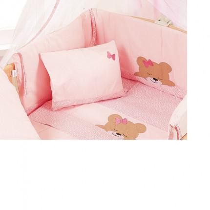 Πάντα 40X192 Dimcol Sleeping Bears Cub 14 Ροζ