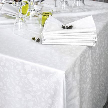Πετσέτα Φαγητού 50X50 Rythmos Bensimon Λευκο