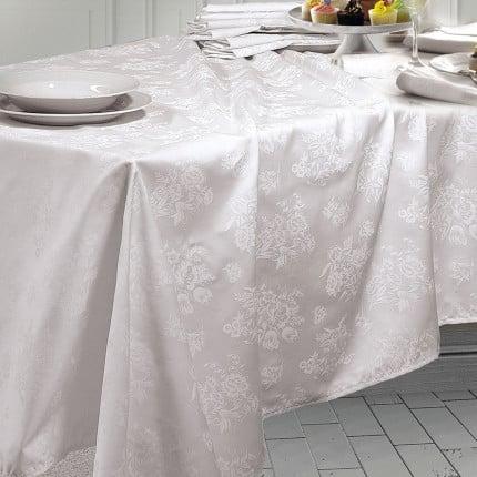 Πετσέτα Φαγητού 50X50 Rythmos Jasmine Λευκο