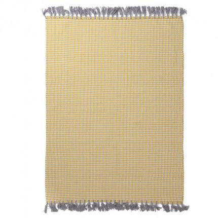 Χαλί Σαλονιού All Season Royal Carpet Urban Cotton Kilim 0.70X1.40 - Houndstooth Yellow