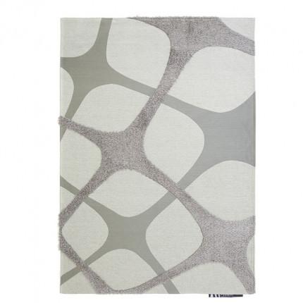 Χαλί Διαδρόμου All Season Royal Carpet Toscana Shaggy 0.68X1.40 - Inno Wh/Silver