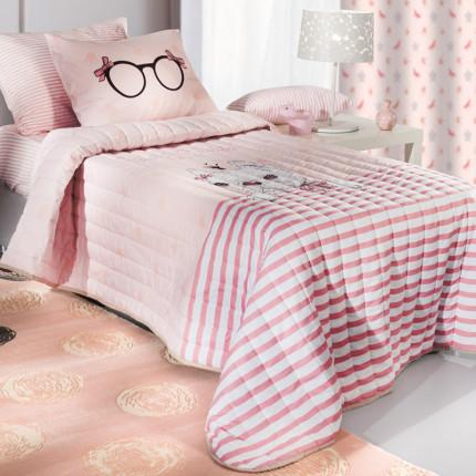 Πάπλωμα Μονό 160X220 Saint Clair Rosie Pinky Suede