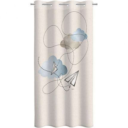Κουρτίνα Με Τρουκς 160X240 Saint Clair Soft-Touch Glide