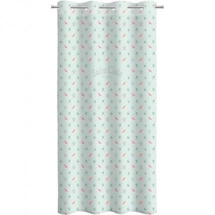 Κουρτίνα Με Τρουκς 160X240 Saint Clair Soft-Touch Rosie Mint V2
