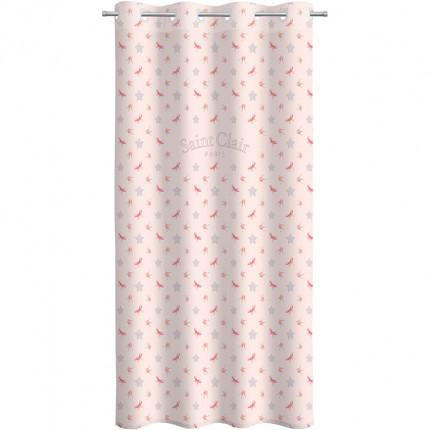 Κουρτίνα Με Τρουκς 160X240 Saint Clair Soft-Touch Rosie Pinky V2