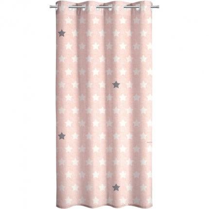 Κουρτίνα Με Τρουκς 160X240 Saint Clair Soft-Touch Pirineo Pink
