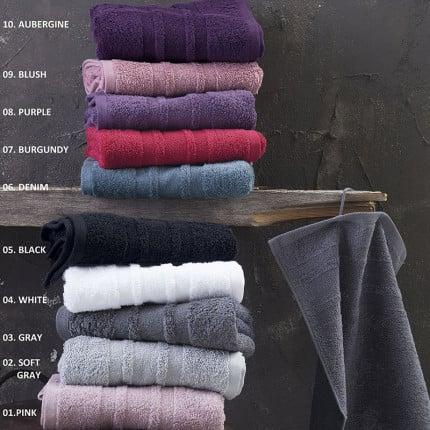 Πετσέτες Μπάνιου (Σετ 3 Τμχ) Rythmos Laura