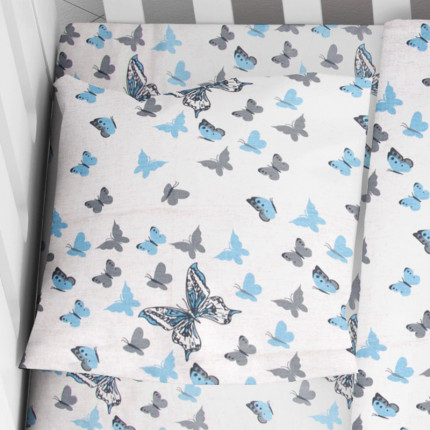 Μαξιλαροθήκη Τεμάχιο 35X45 Dimcol Butterfly 56 Μπλε