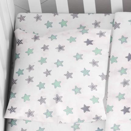 Μαξιλαροθήκη Τεμάχιο 35X45 Dimcol Star 101 Πράσινο