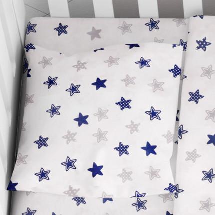 Μαξιλαροθήκη Τεμάχιο 35X45 Dimcol Star 102 Μπλε