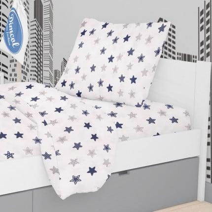 Μαξιλαροθήκη Τεμάχιο 50X70 Dimcol Star 102 Blue