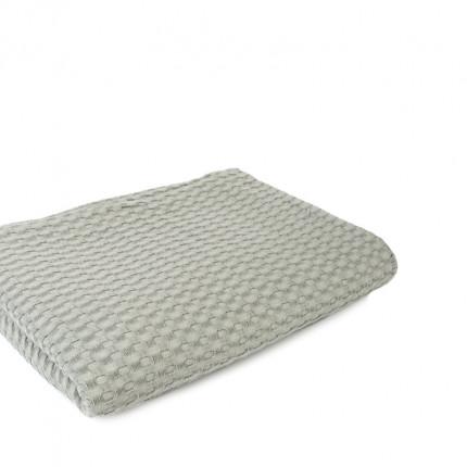 Κουβέρτα Πικέ Μονή 165X255 Dimcol Μονόχρωμη Γκρι