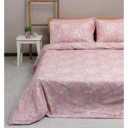 Σεντόνια Υπέρδιπλα (Σετ) 100% Βαμβάκι 2022 Pink