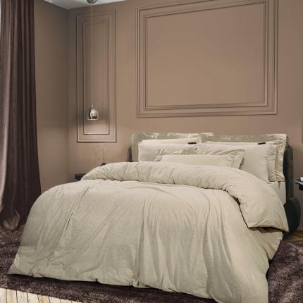 Παπλωματοθήκη Υπέρδιπλη + Σεντόνι (Σετ) 220x240 Greenwich Polo Club Essential 2066 Iβουαρ