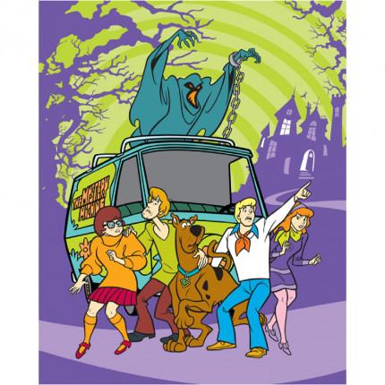 Κουβέρτα Fleece Κούνιας 120X150 Disney Dimcol Scooby Doo 02