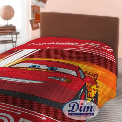 Κουβέρτα Πικέ Μονή 160X240 Disney Dimcol Cars 575