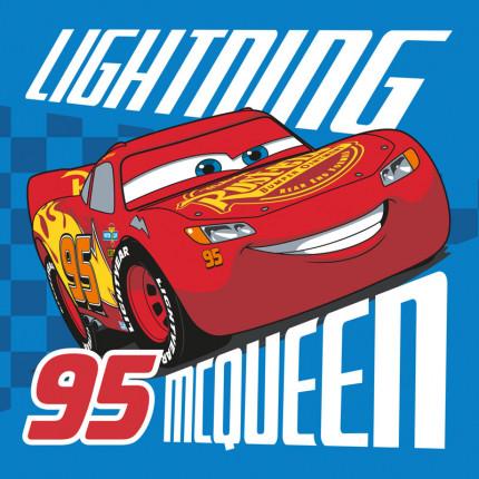 Λαβέτα 30X30 Dimcol Disney Cars 095 Μπλε