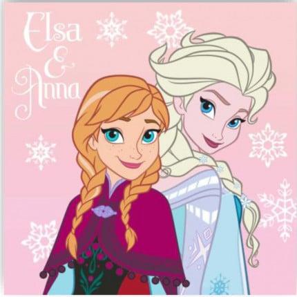Λαβέτα 30X30 Dimcol Disney Frozen 02 Σιελ