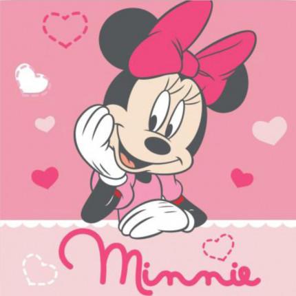 Λαβέτα 30X30 Dimcol Disney Minnie 06 Ροζ