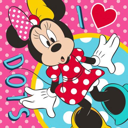 Λαβέτα 30X30 Disney Dimcol Minnie 65