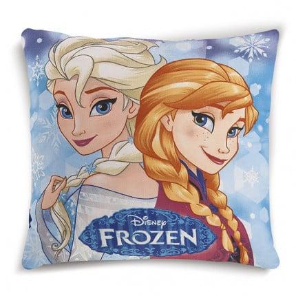 Διακοσμητικό Μαξιλάρι 40X40 Dimcol Disney Frozen 12 Μπλε